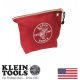 Klein Red Zipper Bag (5539RED) (5539RED)