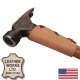 US Made Top Grain Leather Hammer & Hatchet Collar w/ Eyelets & Laces (COLLAR-H)