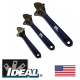 2  pc Ideal Adj Wrench Set (6
