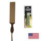 USA Made Leather Strop & Compound Starter Bundle (strop-combo)