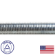 Chicago Hardware 3 Foot 1/4 - 28 Threaded Rod (1428TR)