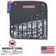 7 Piece 12 Point Black Combination Wrench Set (720WR)