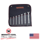 7 Pc Full polish WrightGrip Combination Wrench Set 1/4-5/8 12 Pt